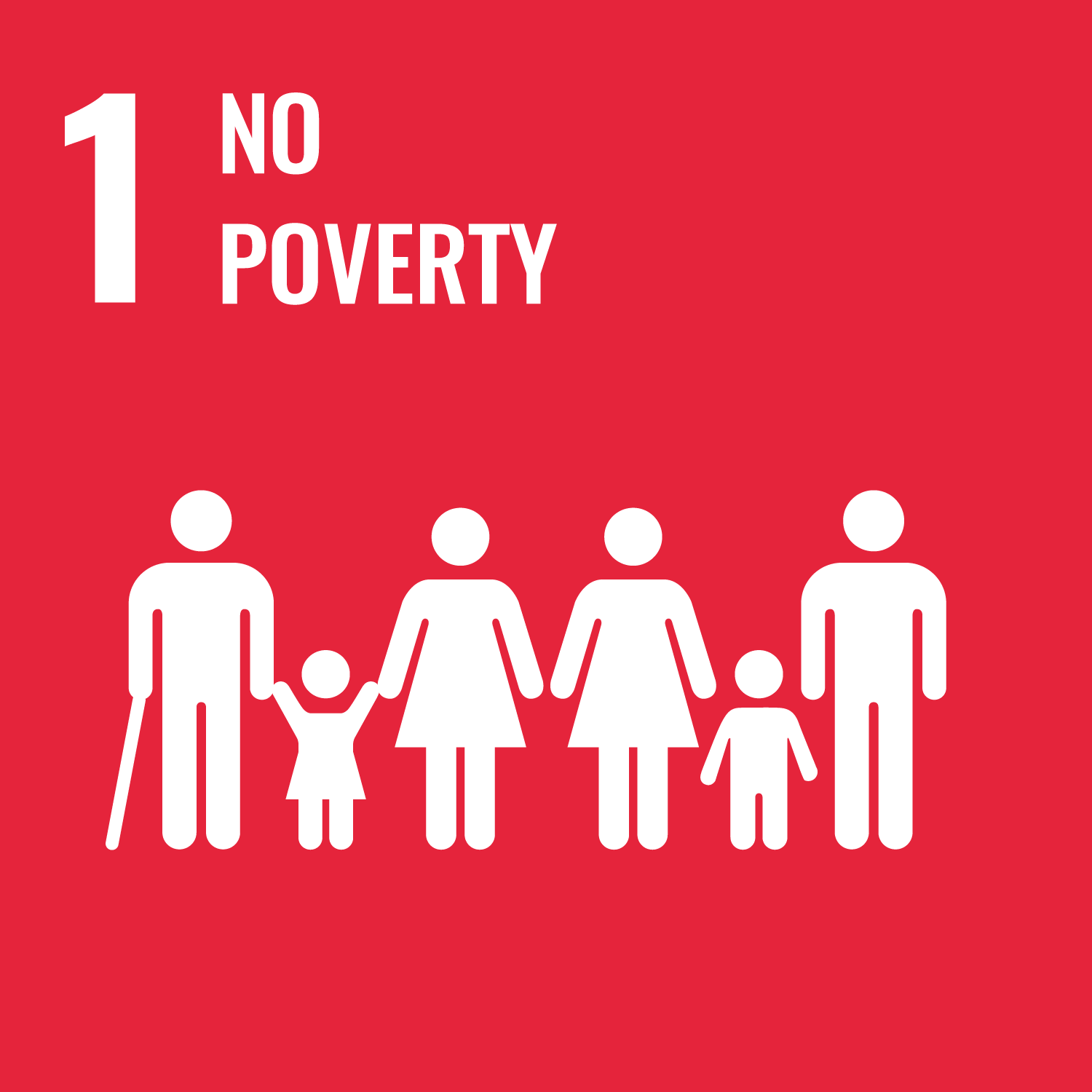 No poverty.