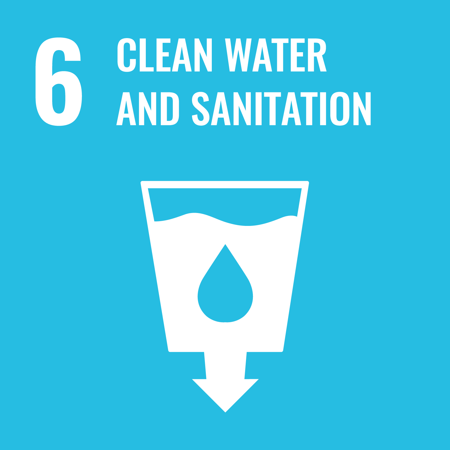 Clean water and sanitation.