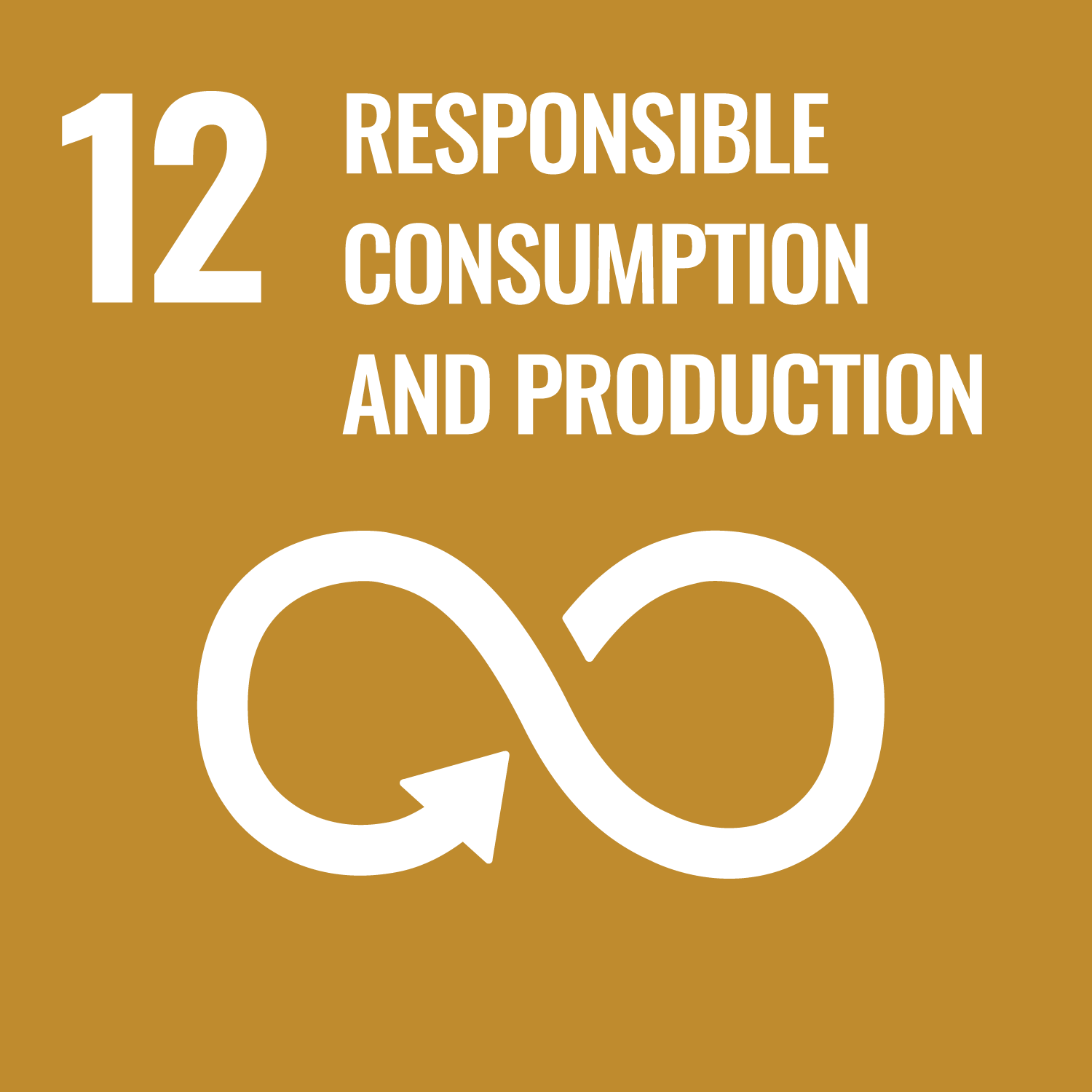 Responsible consumption and production.